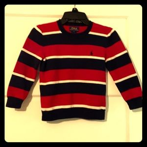 Boys striped Polo by Ralph Lauren sweater